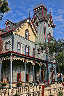 Photograph - Cape May Victorian by Allen Beatty