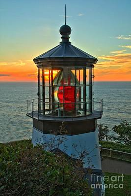 Photograph - Cape Meares Light Portrait by Adam Jewell