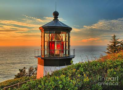 Photograph - Cape Meares Lighthouse by Adam Jewell
