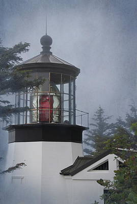 Photograph - Cape Meares Lighthouse by Angie Vogel