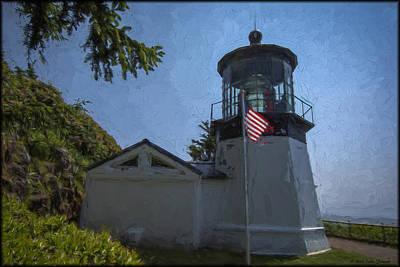 Photograph - Cape Meares Lighthouse by Erika Fawcett