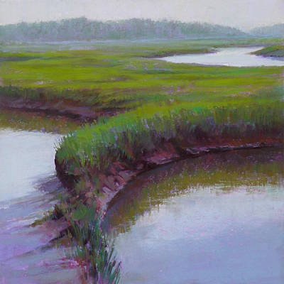 Wall Art - Pastel - Cape Morning by Ed Chesnovitch