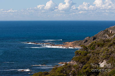Photograph - Cape Naturaliste Coastline 01 by Rick Piper Photography