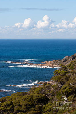 Photograph - Cape Naturaliste Coastline 02 by Rick Piper Photography