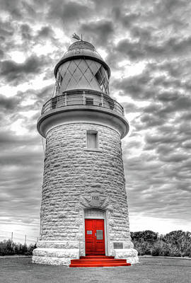 Art Print featuring the photograph Cape Naturaliste Lighthouse by Geraldine Alexander