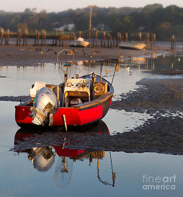 Cape Neddick Harbor Art Print by Jerry Fornarotto