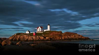 Photograph - Cape Neddick Light. by New England Photography
