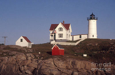 Cape Neddick Lighthouse Print by Bruce Roberts
