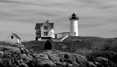 Photograph - Cape Neddick Lighthouse by Caroline Stella