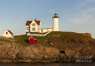 Cape Neddick Lighthouse Print by John Shaw
