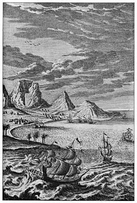 Cape Of Good Hope Art Print