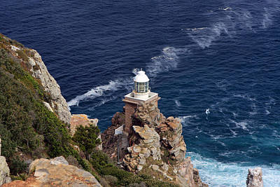 Photograph - Cape Of Good Hope Lighthouse by Aidan Moran