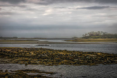 Photograph - Cape Porpoise Maine - Fog On The Horizon by Bob Orsillo