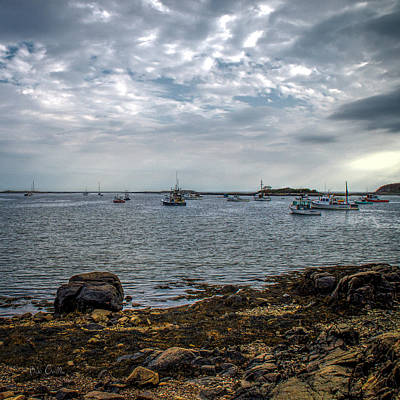 Photograph - Cape Porpoise Maine - In The Evening by Bob Orsillo