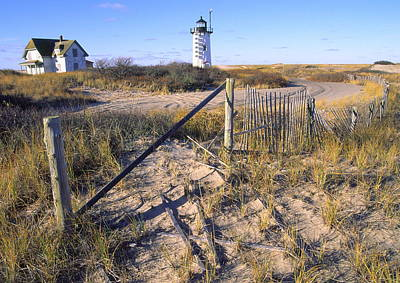 Race Point Lighthouse Cape Cod Art Print