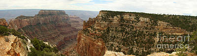 Cape Royal Panorama View Grand Canyon Art Print by Christiane Schulze Art And Photography