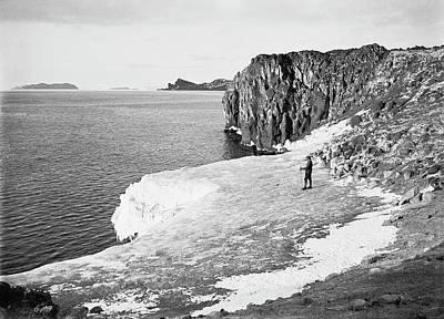 Cape Royds Antarctic Exploration Art Print by Scott Polar Research Institute