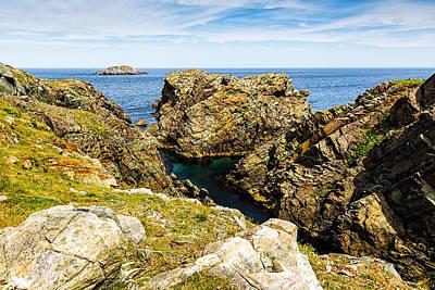 Photograph - Cape Shore Newfoundland by Perla Copernik