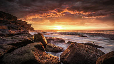 Coastal Landscape Photograph - Cape Solander by Grant Galbraith