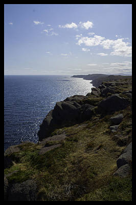 Photograph - Cape Spear Coast Line  by Vincent Dwyer