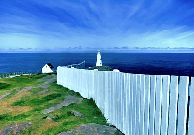 Photograph - Cape Spear Lighthouse Newfoundland by Patricia Januszkiewicz