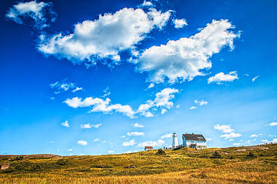 Photograph - Cape Spear National Historic Park by Perla Copernik