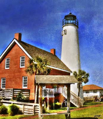 Photograph - Cape St. George Lighthouse by Debra Forand