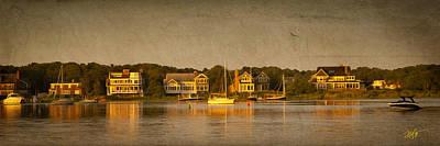 Cape Cod Digital Art - Cape Sunset by Michael Petrizzo