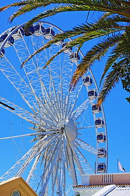 Photograph - Cape Town Ferris Wheel by Aidan Moran