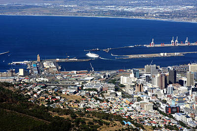 Photograph - Cape Town Harbour - South Africa by Aidan Moran
