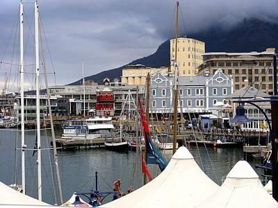 Cape Town Port Art Print