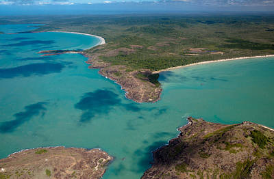 Photograph - Cape York From The Air by Carole Hinding