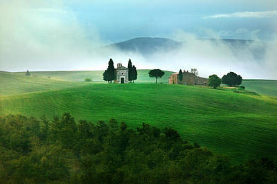 Photograph - Capella Di Vitaleta by John Galbo