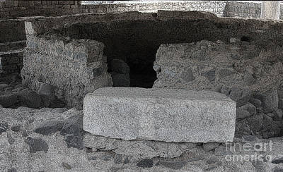 Photograph - Capernaum House by Tom Griffithe