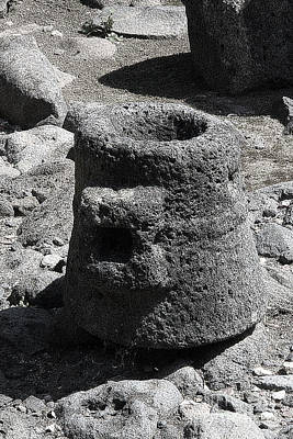 Photograph - Capernaum Stone by Tom Griffithe