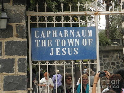 Photograph - Capharnaum by Robin Coaker