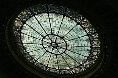 Photograph - Capital Building Stained Glass  by Susan McMenamin