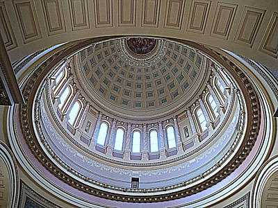 Photograph - Capital Dome Madison Wisconsin by Kay Novy