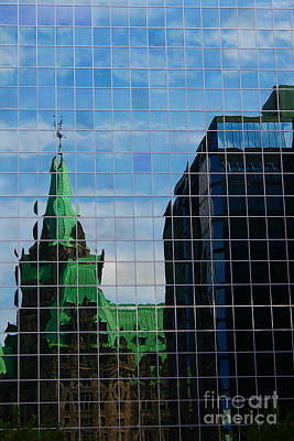 Photograph - Capital Reflections by Alyce Taylor