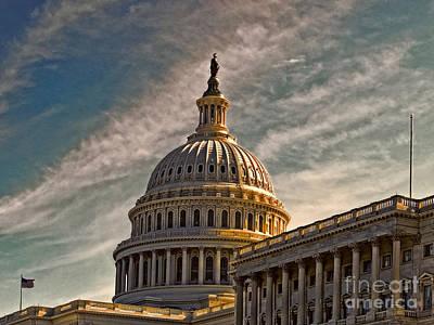 Photograph - Capital Sun  by Dawn Gari