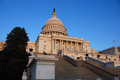 Photograph - Capitol Building by John Schneider