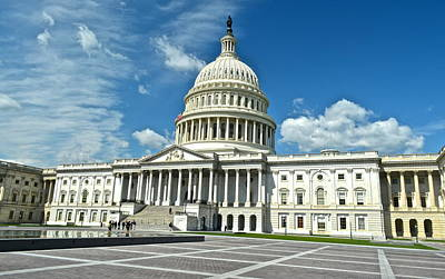 1776 Photograph - Capitol Building by Frozen in Time Fine Art Photography