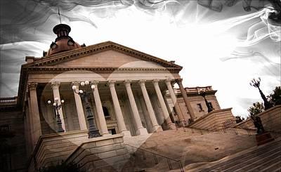 Photograph - Capitol Columbia South Carolina by Bob Pardue