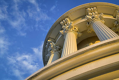 Chris Reed Photograph - Capitol Columns by Chris Reed