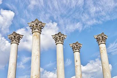 Photograph - Capitol Columns by Jean Goodwin Brooks