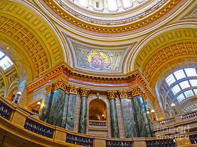 Photograph - Capitol Details by David Bearden
