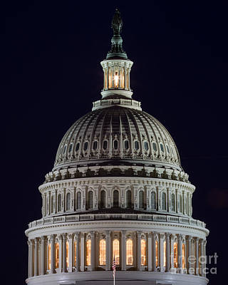 Photograph - Capitol Dome by Dale Nelson
