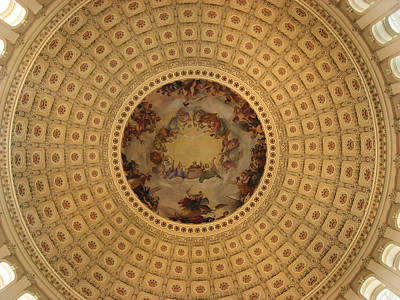 Capitol Dome Print by Paul Thomas
