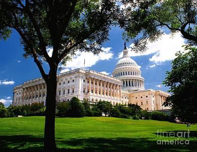 Photograph - Capitol Hill by Nick Zelinsky