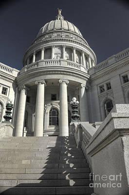 Photograph - Capitol Morning by David Bearden